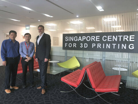 Visit of several research institutions in Singapore