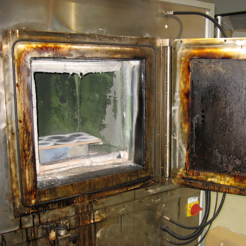 Repair of pyrloysis furnace after hard working