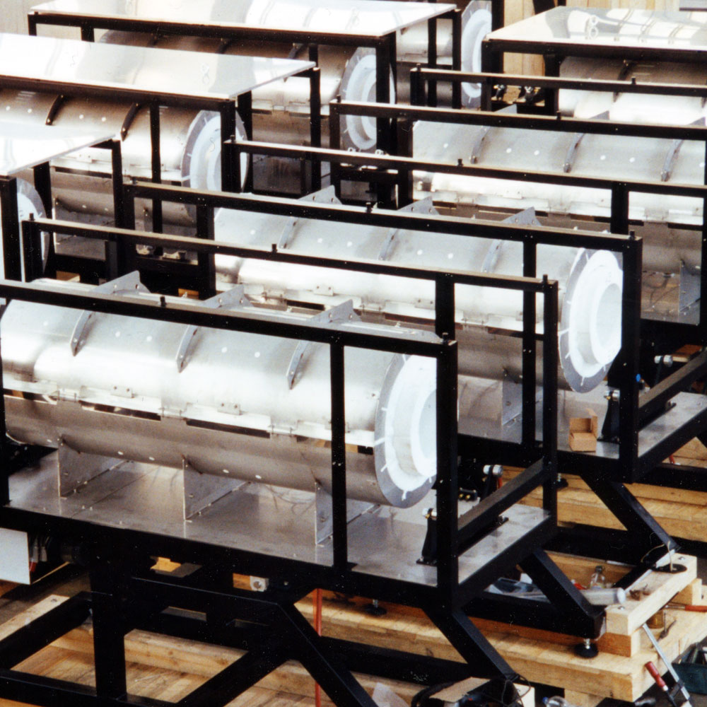 Serial production of X.ROTATE furnaces