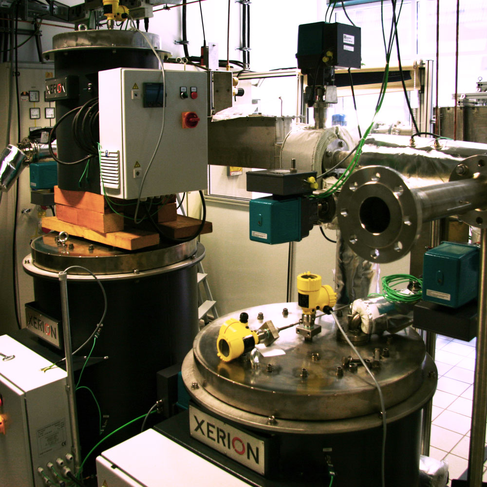 Special metallurgical research system